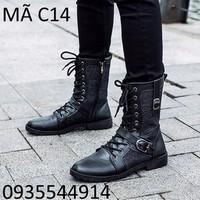 Giày Bốt nam đẹp đúng chuẩn Hàn Quốc C14