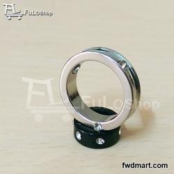 Mặt dây chuyền Inox 2 chiếc nhẫn