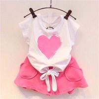 Set váy trái tim Viet BB - S322