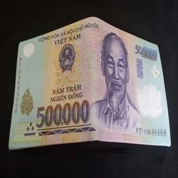 Bóp ,ví hình tiền 500k