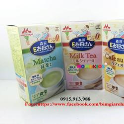 Sữa Morinaga bầu vị cà phê, hồng trà, trà xanh