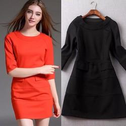 Đầm suông đơn giản chất liệu tốt- 131