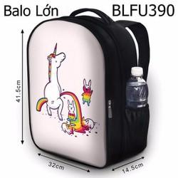 Balo Teen - Học sinh - Laptop Kì lân bảy màu - VBLFU390