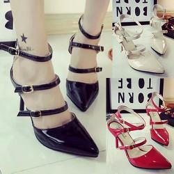 Giày cao gót 3 dây cho bạn gái thêm quyến rũ - 133