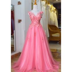 Áo cưới ren 3D r0118