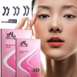 Combo 3 bộ sụn nâng mũi 3D Hàn Quốc + tặng khay đựng
