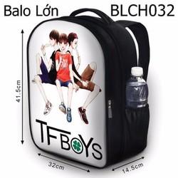 Balo Teen - Học sinh - Laptop Tfboys fanart HOT - VBLCH032