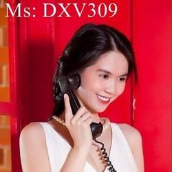 Đầm xòe hở lửng phối 2 màu dễ thương xinh đẹp DXV309