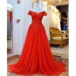 Áo cưới đỏ r0117