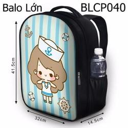 Balo Teen - Học sinh - Laptop Cô bé thuỷ thủ - VBLCP040