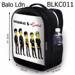 Balo Teen - Học sinh - Laptop Big Bang phiên bản Simpson - VBLKC011