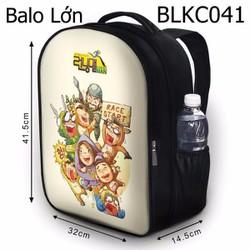Balo Teen - Học sinh - Laptop Running man HOT - VBLKC041