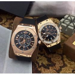 Đồng hồ HB dây cao su nhiều mẫu