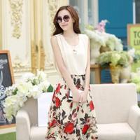 Đầm đẹp vintage tùng hoa