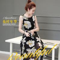 Đầm đẹp vintage hoa lan