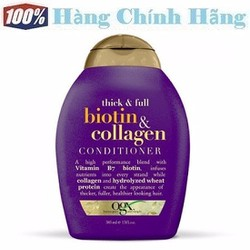 Dầu xả mọc tóc OGX Biotin and Collagen Conditioner 385ml
