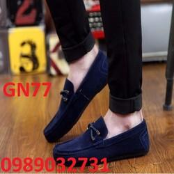 Giày lười nam da lộn NEW - GN77