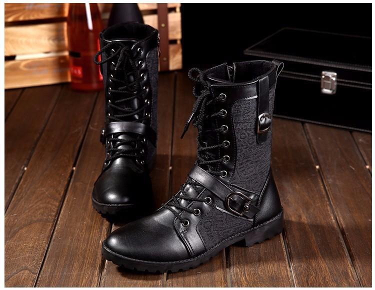 Giày Bốt Nam cao cấp Hàn Quốc - GN106 8