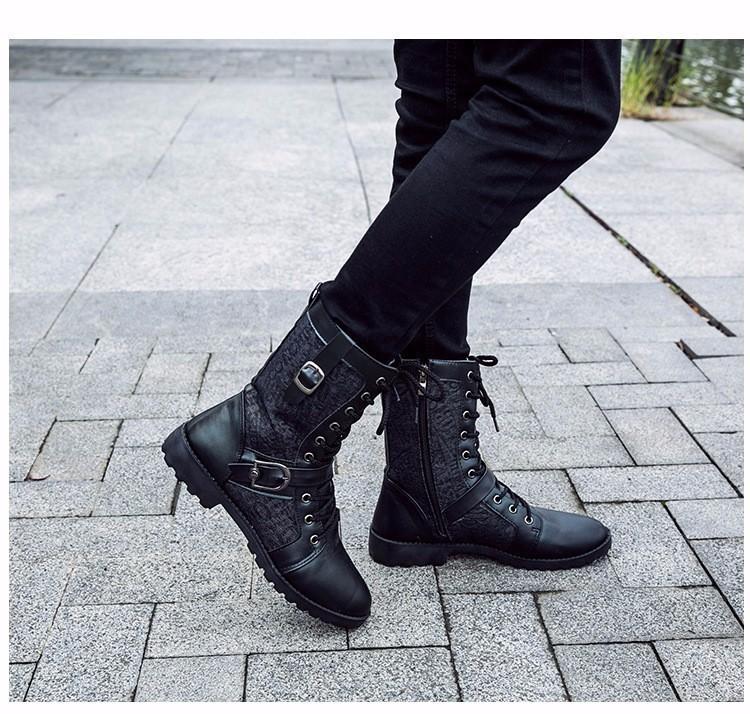 Giày Bốt Nam cao cấp Hàn Quốc - GN106 4