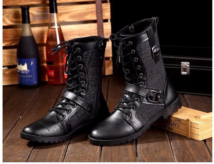 Giày Bốt Nam cao cấp Hàn Quốc - GN106 2