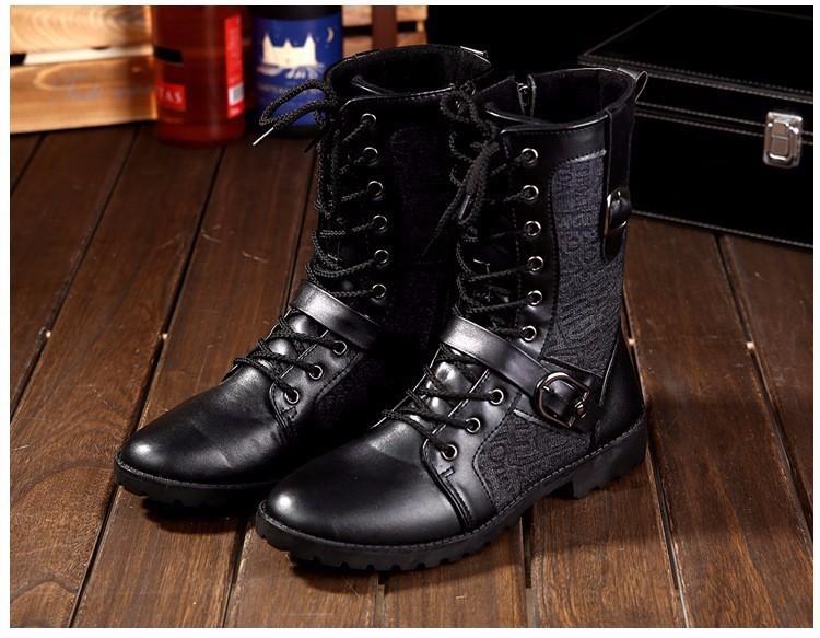 Giày Bốt Nam cao cấp Hàn Quốc - GN106 6