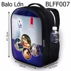 Balo Teen - Học sinh - Laptop Các trạng thái của Baymax - VBLFF007
