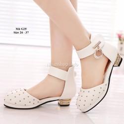 Giày cao gót bé gái 3 - 12 tuổi kiểu dáng sang trọng G25