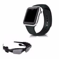 Bộ 1 đồng hồ thông minh G08 và 1 kính mát kiêm tai nghe bluetooth