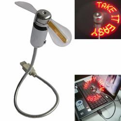 Quạt đèn led chạy chữ, thông điệp yêu thương