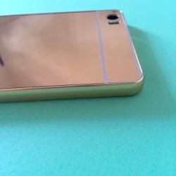 Xiaomi Mi Note Pro - Ốp tráng gương viền kim loại cho điện thoại