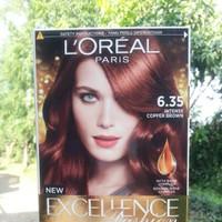 Nhuộm Loreal Excellence Fashion 6.35  Nâu đồng