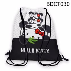 Balo dây rút - Túi rút dễ thương Hello Kitty HOT - VBDCT030