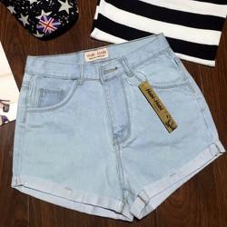 Quần shorts nữ thông dụng dể phối áo cho nàng tha hồ lựa chọn-162