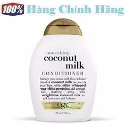 Dầu xả dưỡng tóc hương sữa dừa OGX Nourishing Coconut Milk Conditioner