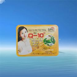 Kem và bột tắm trắng Bột ngọc trai – Trà xanh – Tảo biển Q10