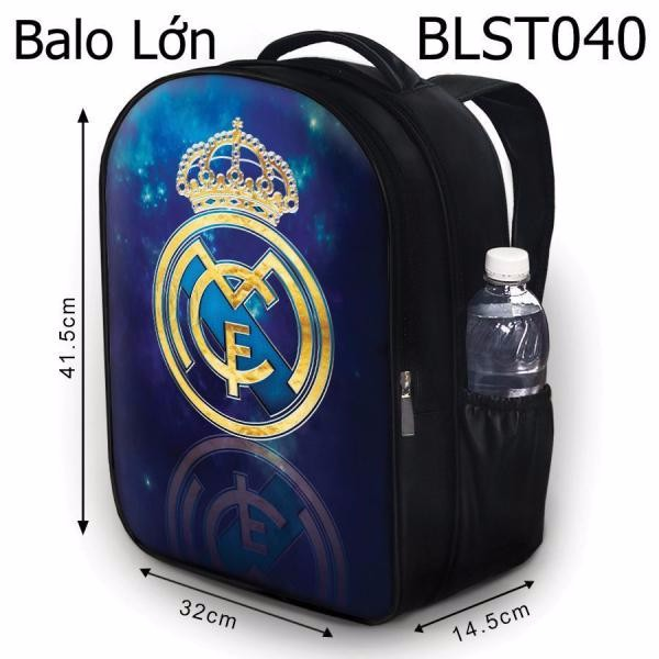 Balo Teen - Học sinh - Laptop Real Madrid HOT - VBLST040 1