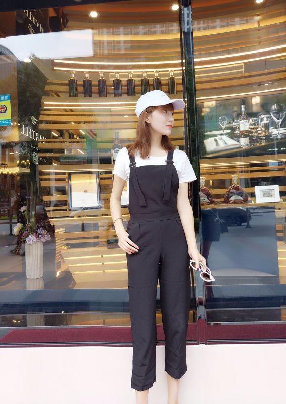 Bộ yếm jumpsuit streetstyle - 8942 - Hàng nhập 6