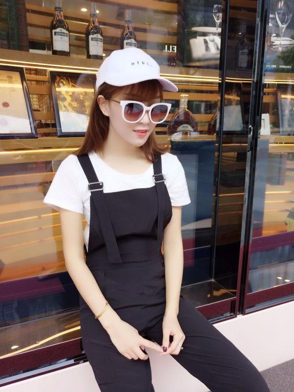 Bộ yếm jumpsuit streetstyle - 8942 - Hàng nhập 3