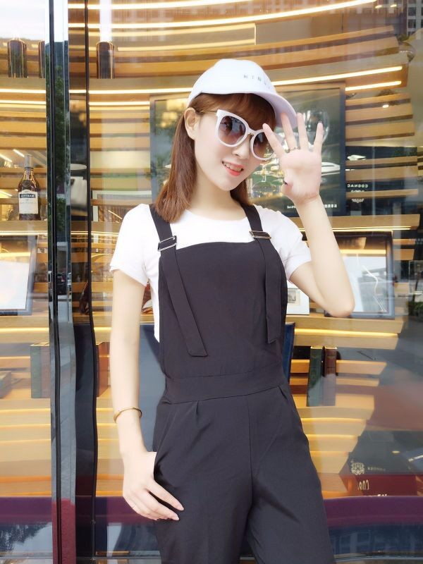 Bộ yếm jumpsuit streetstyle - 8942 - Hàng nhập 8