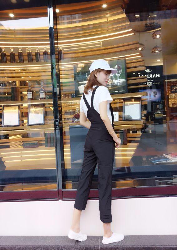 Bộ yếm jumpsuit streetstyle - 8942 - Hàng nhập 4