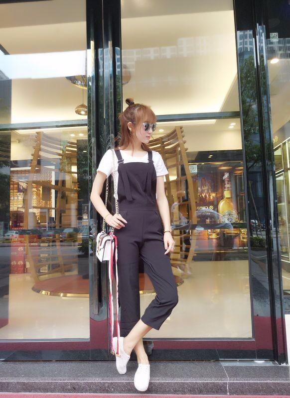 Bộ yếm jumpsuit streetstyle - 8942 - Hàng nhập 7