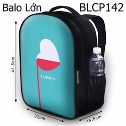 Balo Teen - Học sinh - Laptop Trái tim cho máu - VBLCP142
