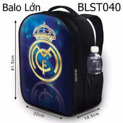 Balo Teen - Học sinh - Laptop Real Madrid HOT - VBLST040