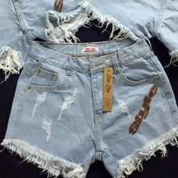 Quần shorts nữ thông dụng dể phối áo cho nàng tha hồ lựa chọn-161