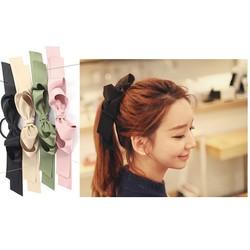 ctx_kt23_cột tóc hand made nơ kiểu Hàn Quốc