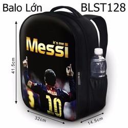 Balo Teen - Học sinh - Laptop Messi HOT - VBLST128
