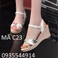 Giày đế xuồng nữ cao Hàn Quốc C23