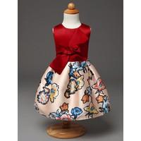 Đầm bé bẹt vai xinh xắn - DB016