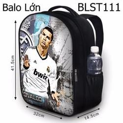 Balo Teen - Học sinh - Laptop Ronaldo - VBLST111