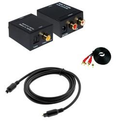 Bộ chuyển âm thanh TV 4K amply, Dây quang 1,5m-TM shop